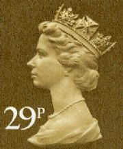 29p Cheap GB Postage Stamp